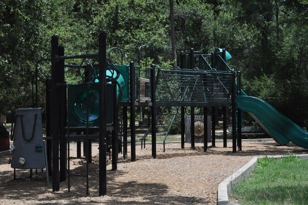 Mercer Arboretum Playground Equipment