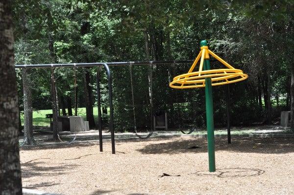 Mercer Arboretum Playground Spinner