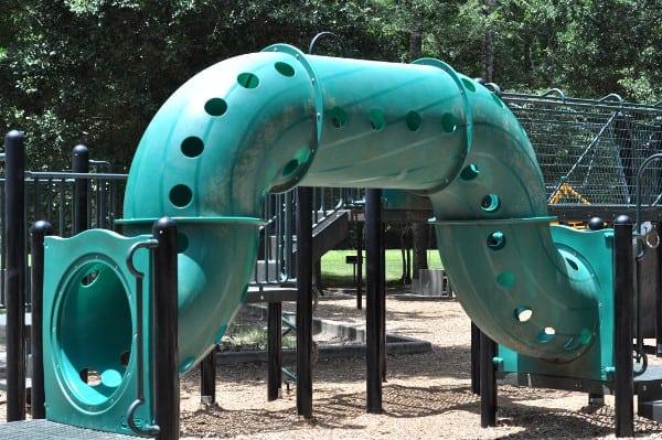 Mercer Arboretum Playground Tube
