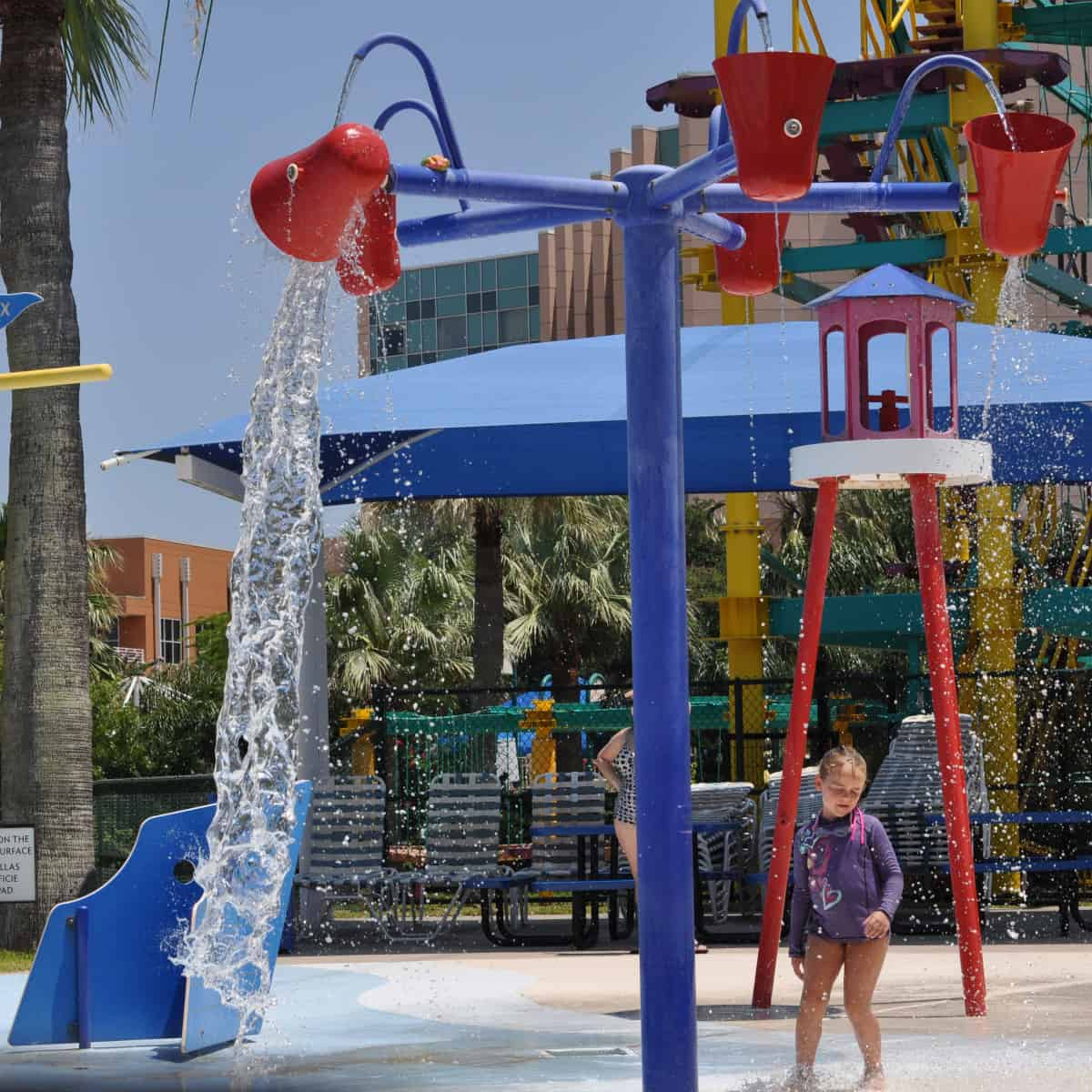 Moody Gardens Palm Beach Splashpad