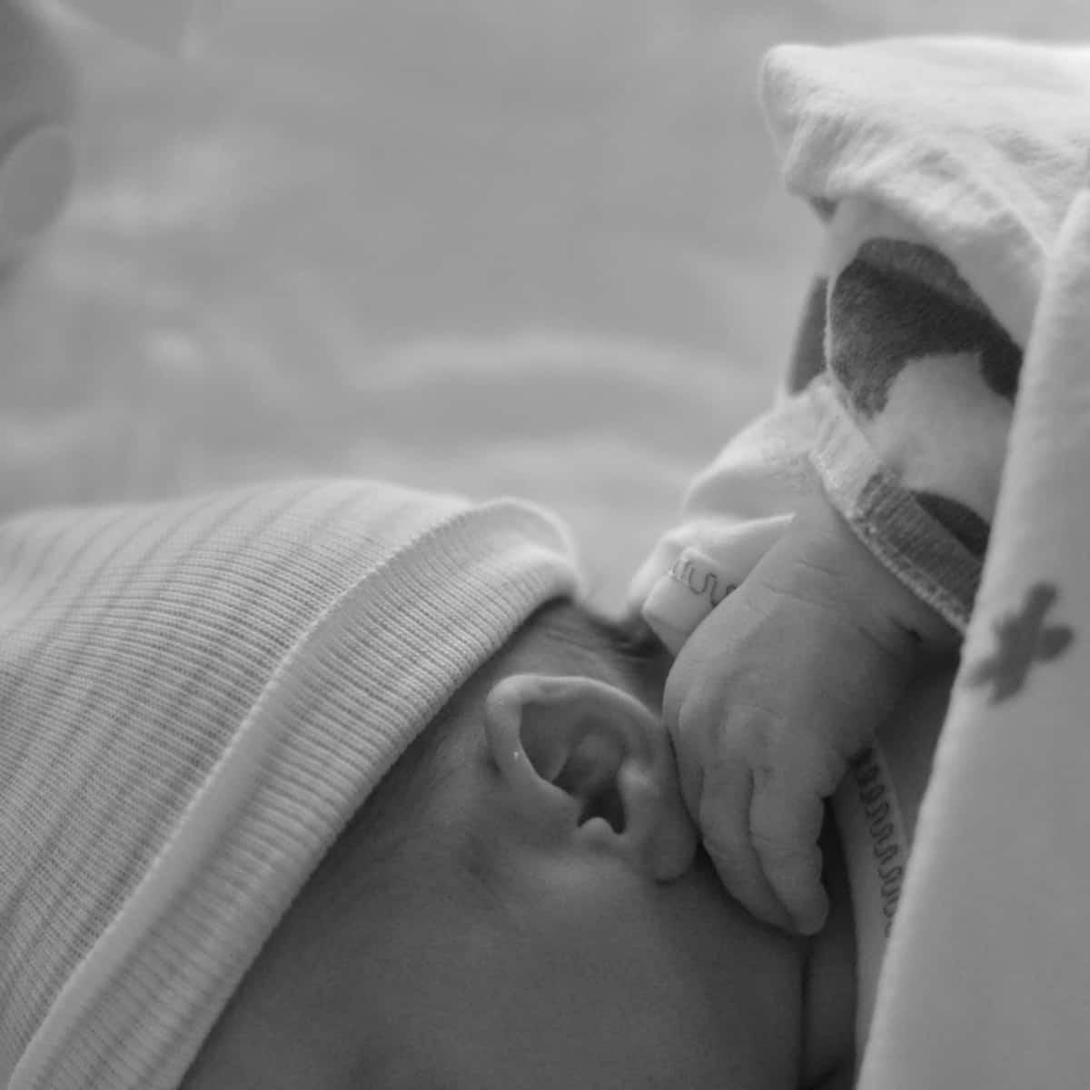 Newborn Baby Ear