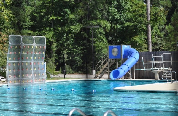 Sawmill Pool The Woodlands Slides and Diving Boards