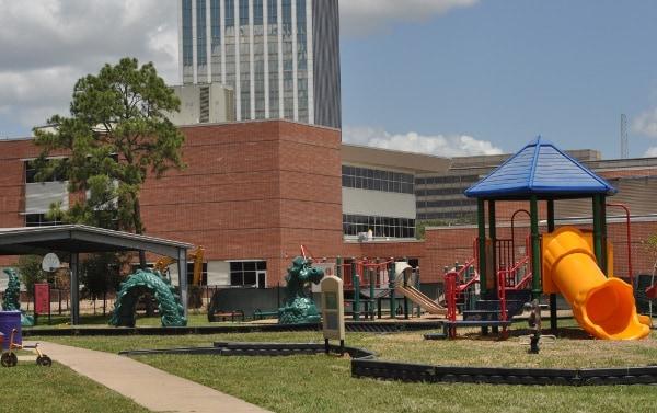 School at St George Parce Spark Park Dragon Playground