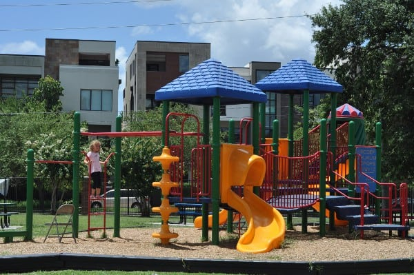 School at St George Place Spark Park Playground