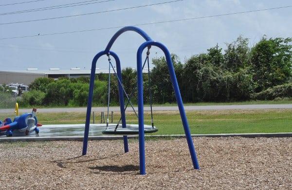 Schreiber Flagship Park Galveston Disk Swing