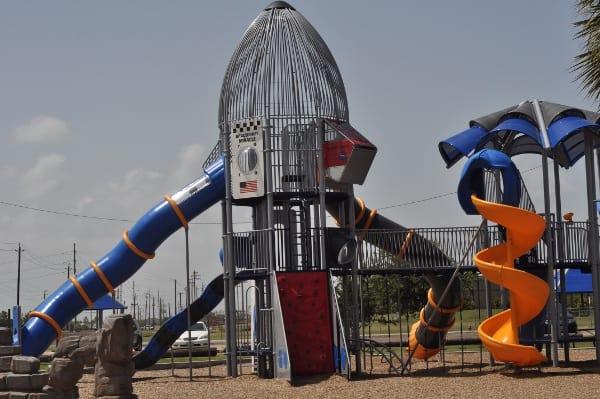 Schreiber Flagship Park Galveston Playground