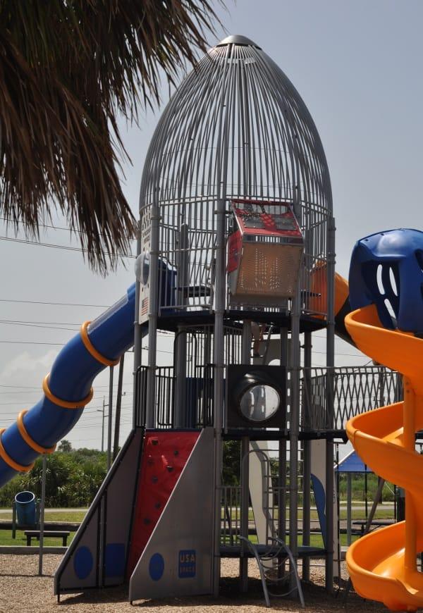 Schreiber Flagship Park Galveston Space Shuttle Playground