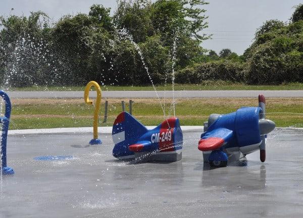 Schreiber Flagship Park Galveston Splashpad