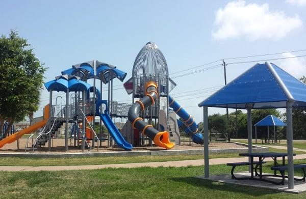 Schreiber Flagship Park in Galveston