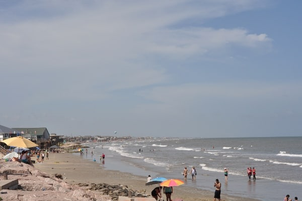 Surfside Beach from Jetty Park