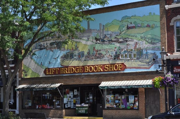 Lift Bridge Bookshop Brockport New York