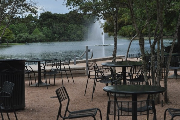 Pinewood Cafe at Hermann Park Patio