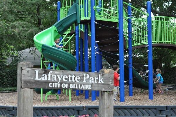 lafayette-park-bellaire-sign
