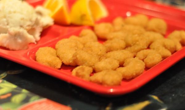 rainforest-cafe-houston-galleria-shrimp