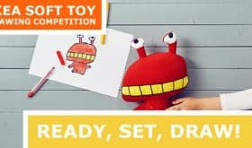 Create a Soft Toy at IKEA!  Submit by 10/30/16