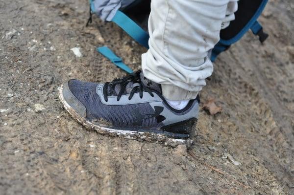 Memorial Park Trail Mud