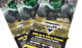 Coupon Code for Monster Jam at NRG Stadium Houston – February 11 & 18, 2017