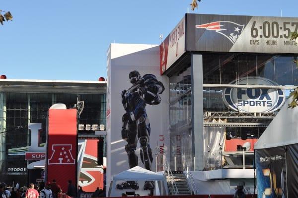 Super Bowl 51 Fox Booth