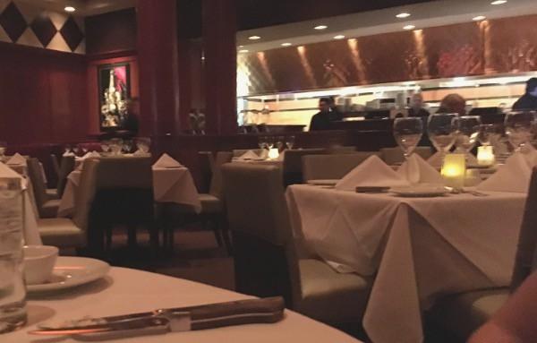 Flemings Steakhouse Tables