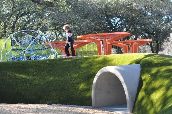 Levy Park Houston Mound
