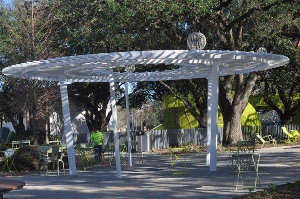 Levy Park Houston Pergola