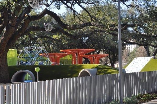 Levy Park Houston Playground