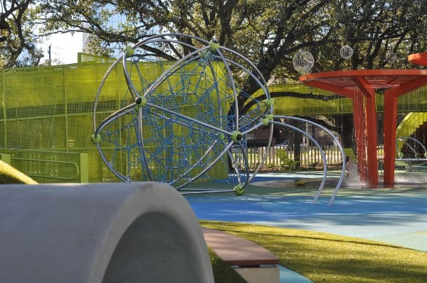 Levy Park Houston Splashpad