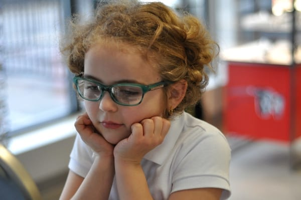 Visionworks Glasses on Brooke