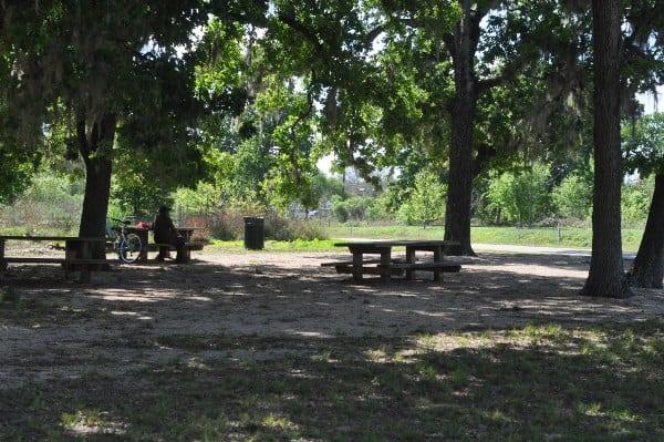 Bayou Parklands Hermann Park Picnic Tables