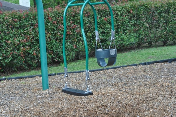 Carol Fox Park Mom and Baby Swing