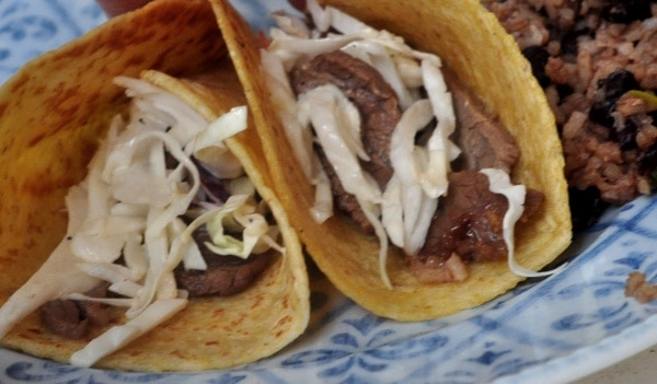 Marias Gourmet Kitchen Asian Street Tacos