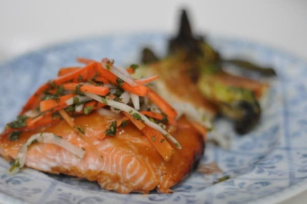Marias Gourmet Kitchen Miso Salmon