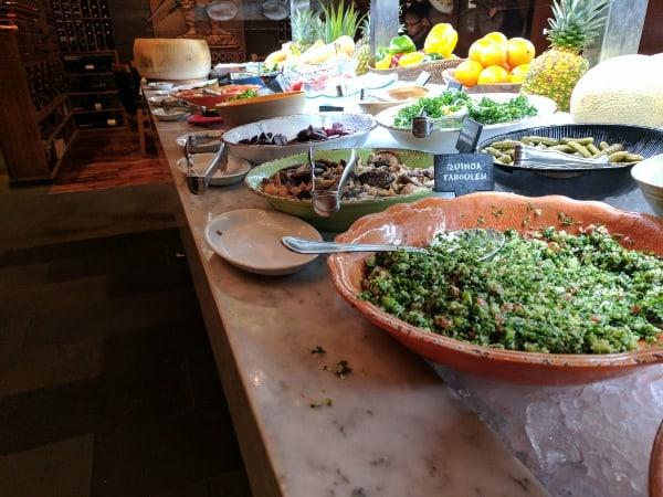 Fogo de Chao salad bar