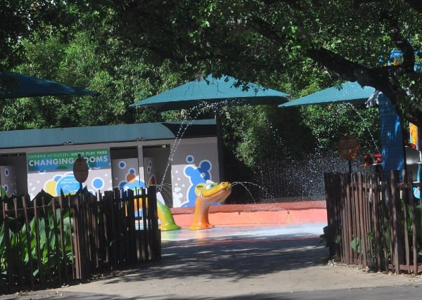 Houston Zoo Splashpad Entrance