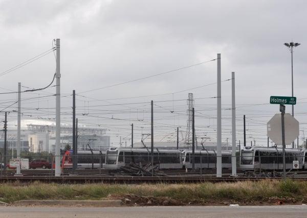 METRORail Train Yard