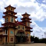 Where in Houston?  Cao Dai Temple near Belfort and Gessner!