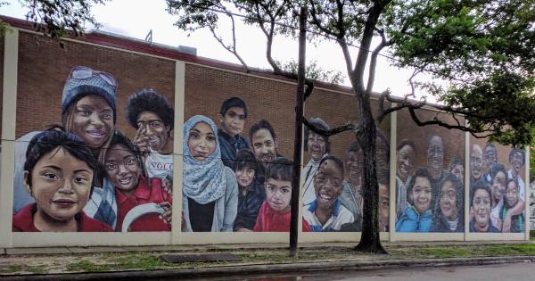 Blackshear Elementary School Mural
