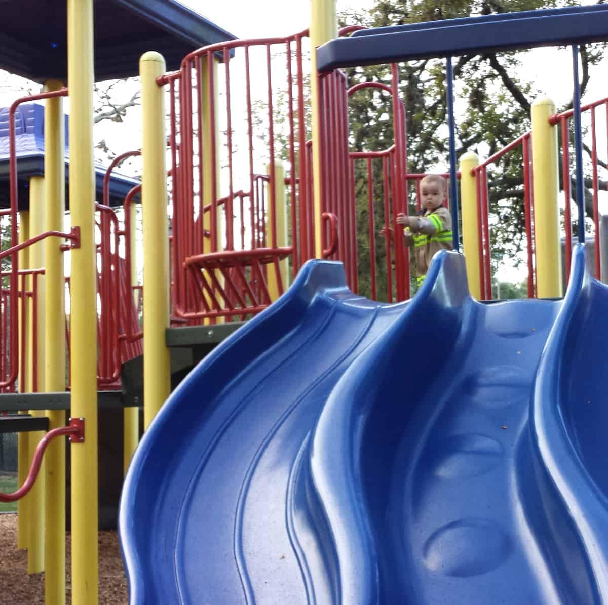 Evergreen Park Slides