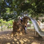 You have to see the rock slide at Judson Park!