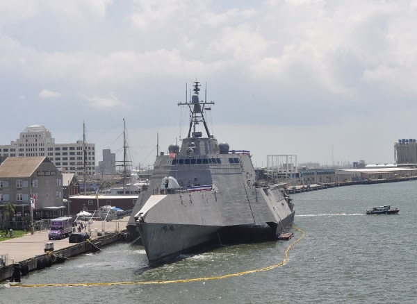 Uss Gabrielle Giffords At Pier 21 In Galveston June 5 11