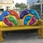 Where in Houston? Art Bench Project in The Woodlands!