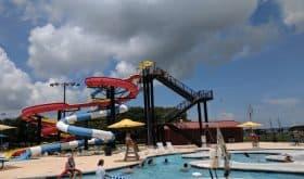 Nessler Park Family Aquatic Center in Texas City