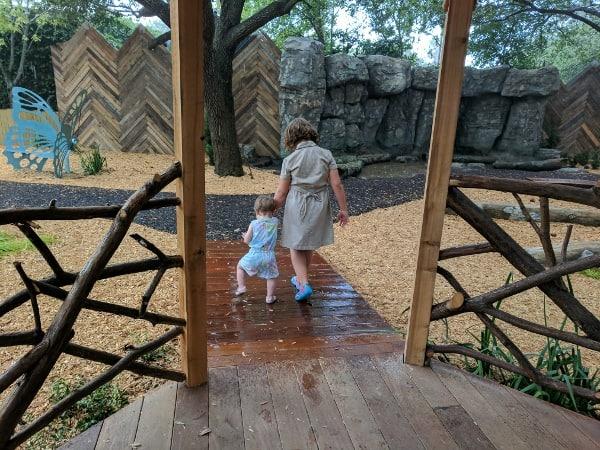 Houston Zoo Nature Play Area