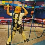 Try Out The Challenge Course at the Children's Museum of Houston!