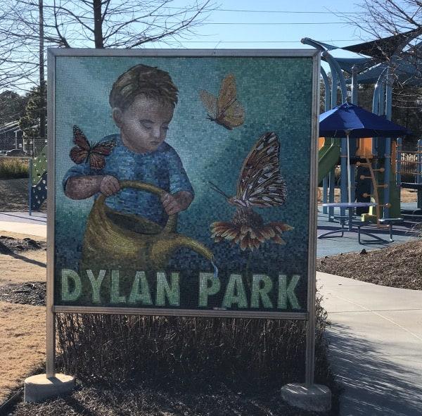 Dylan Park Sign