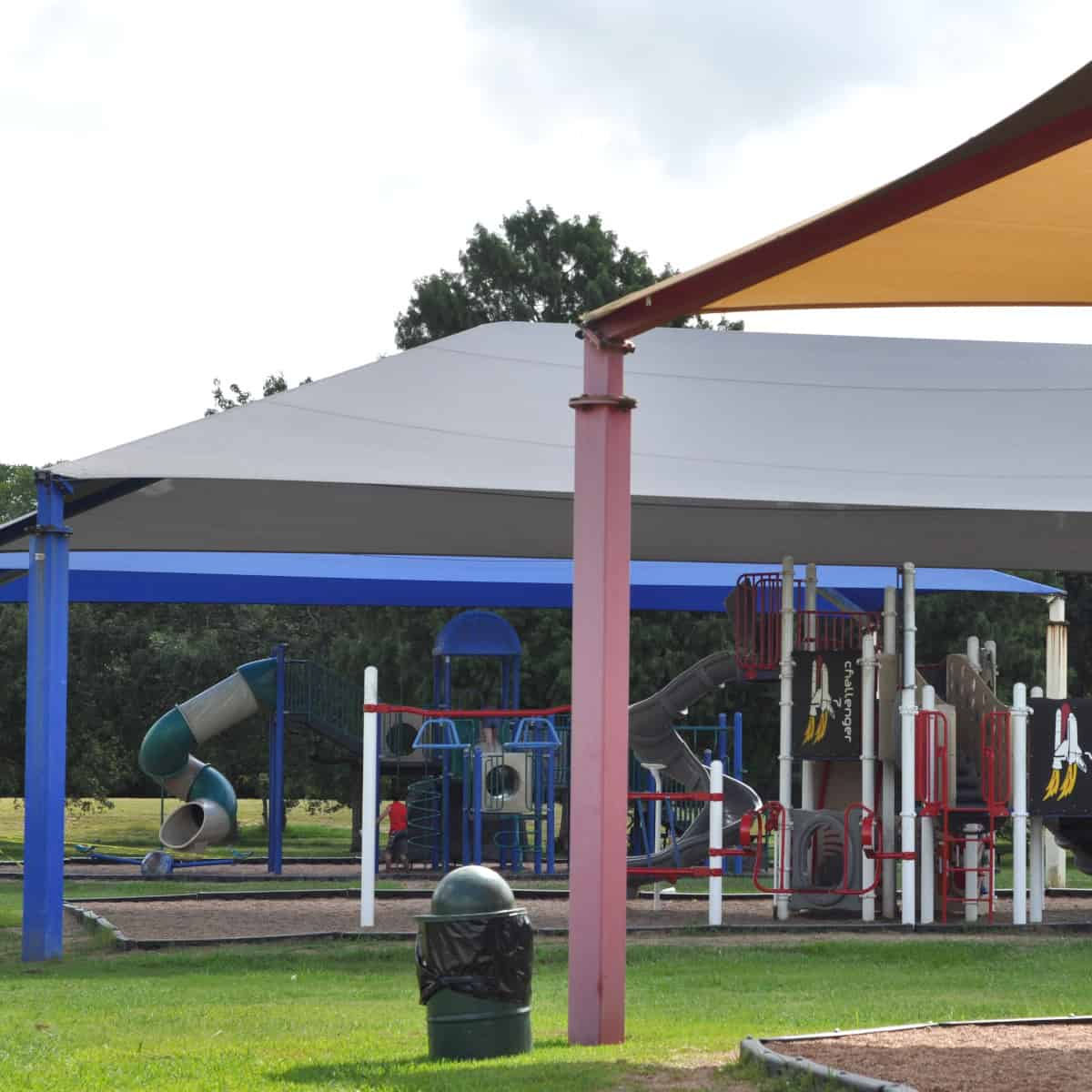 Challenger Seven Park Shaded Playgrounds