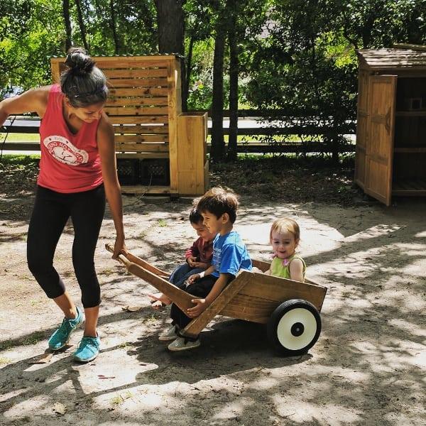 Nature Discovery Center Nature Playground Houston