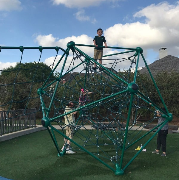 Spiderweb at River Park