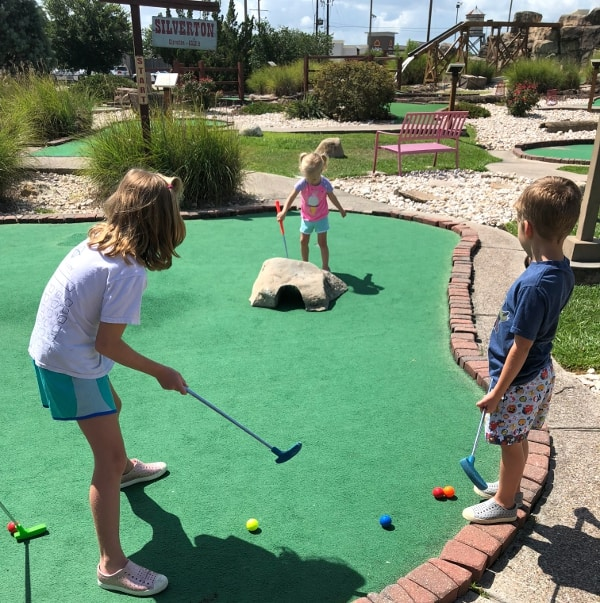 Mini Golf in Beaumont