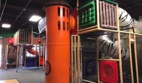 Free Indoor Playground at Safari Stop at The Woodlands United Methodist Church